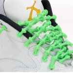 Xtenex Laces X300 neon groen triathlon veters
