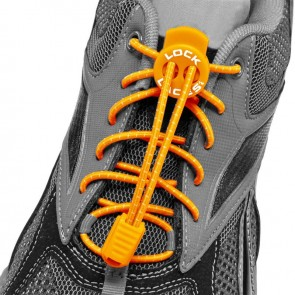 lock laces oranje triathlon veters