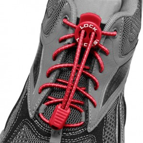 lock laces rood triathlon veters