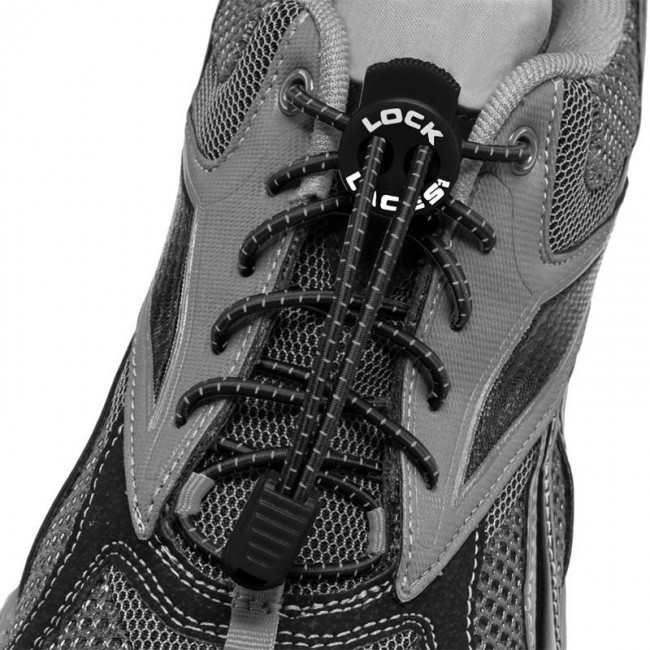 lock laces zwart triathlon veters