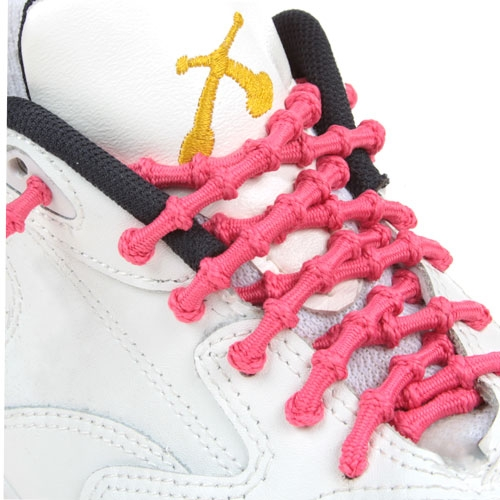 xtenex laces neon roze triathlon veters